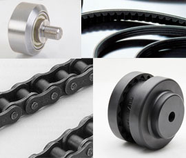 Chain, Bearings, Couplings, Belts, etc.